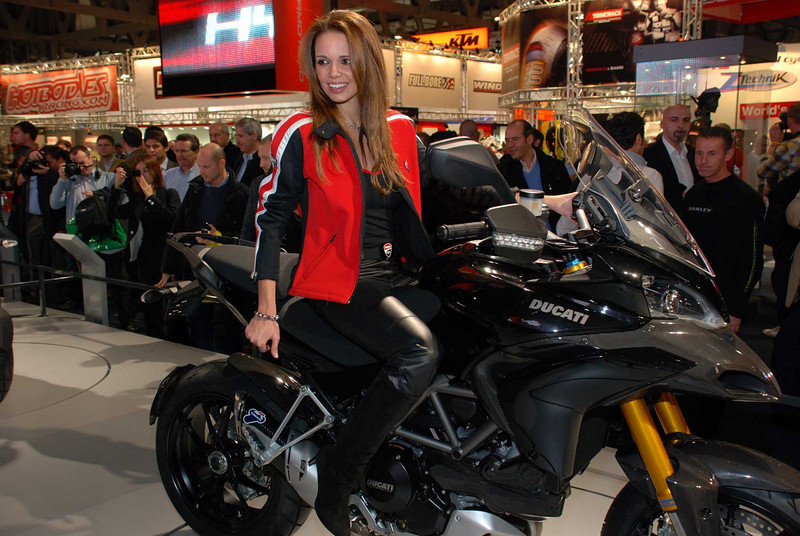 Ducati Multistrada 1200 launch EIMCA motorcycle show May 2009  Photo source: http://www.asphaltandrubber.com/