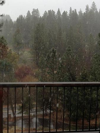 snow at Norlene Way