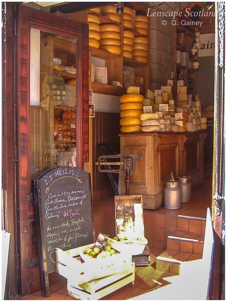 Mellis cheesemonger, Victoria Street  (2002)