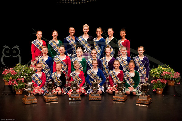 2009 Highland Dance Provincial Championship
