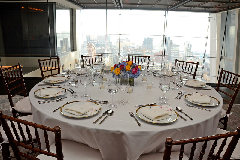Atmosphere AVENUE MAGAZINE Presents the SALON DINNER & CONVERSATION about PUBLIC ART Featuring YVONNE FORCE VILLAREAL 10 Hudson Yards NYC, USA - 2017.04.06 Credit: Lukas Greyson