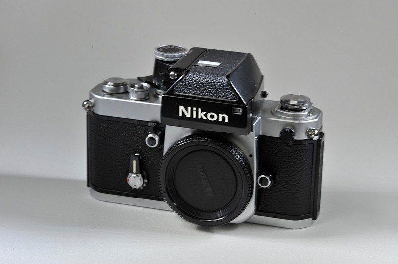 Nikon F2 Photomic in box. Mint Minus. Includes correct Nikon fitted case with strap.