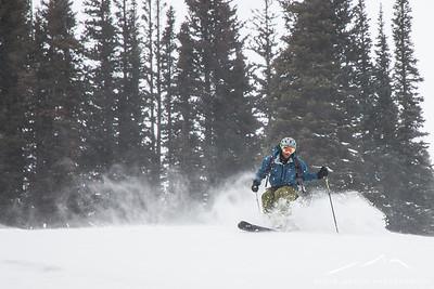 Indian Peaks Backcountry Skiing (Jan. '15)