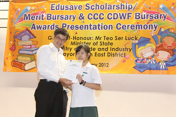 BRP Scholarship / Bursary Awards @ Punggol CC (2nd Session 4pm - 6pm)