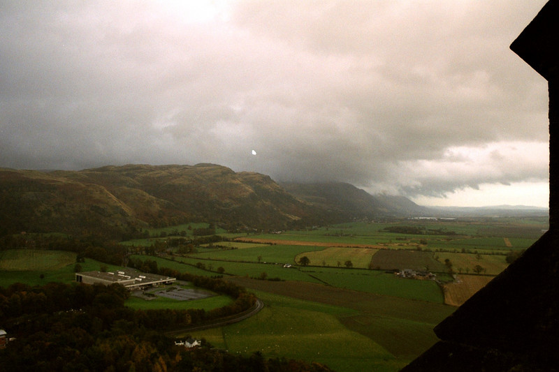 View from William Wallace monument.