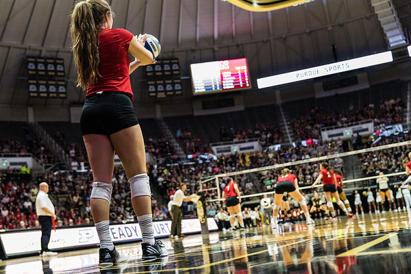 Purdue Volleyball vs Nebraska 2017-10-14