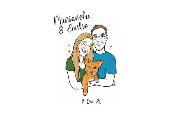 Marianela & Emilio - 2 octubre 2021