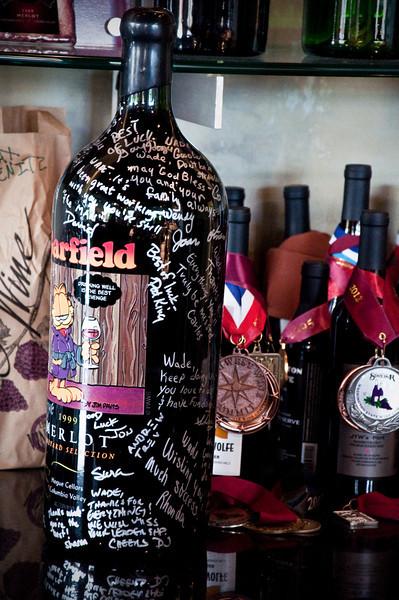 2012.10 - Chad's birthday: wine tasting in Prosser, WA. Thurston Wolfe Winery.