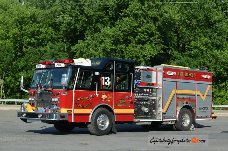 West Shore Bureau of Fire (Wormleysburg) Engine 2-13: 2006 E-One Cyclone II 1500/500