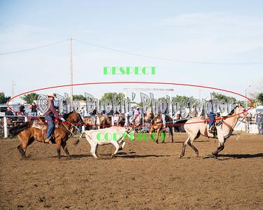 Irvine Rodeo 2014 Team Roping Slack