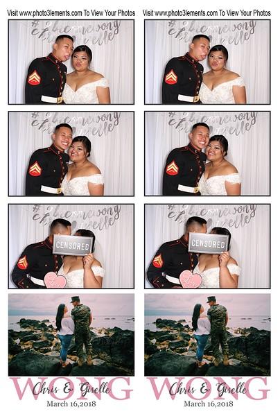Chris & Giselle's Wedding 2018
