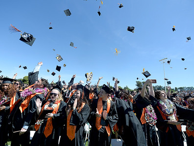 Vacaville High graduates lose caps but not their focus on future