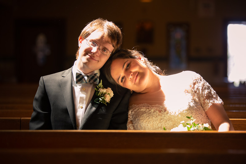 Alisha and Chris Wedding
