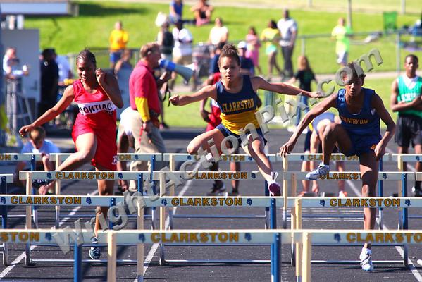 """2010 06 02 Girls 55m (30"""") Hurdles Finals"""