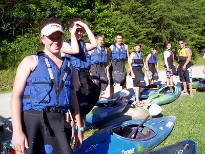 Teen Venture White Water Kayak 2003