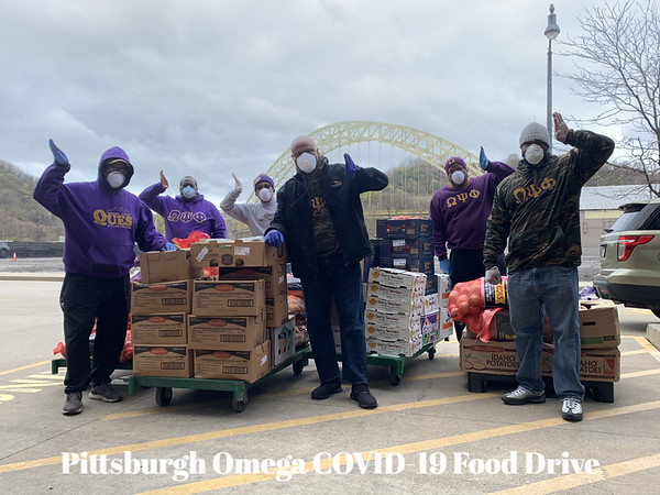Pittsburgh Omega COVID-19 Community Food Drive