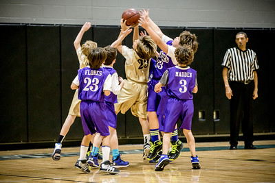 Kings Basketball - Jan 2014