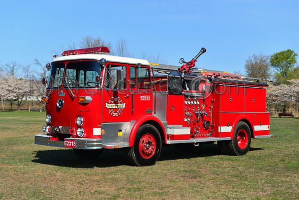2013 Antique Fire Apparatus Association of NJ Spring Muster  Succasunna, NJ