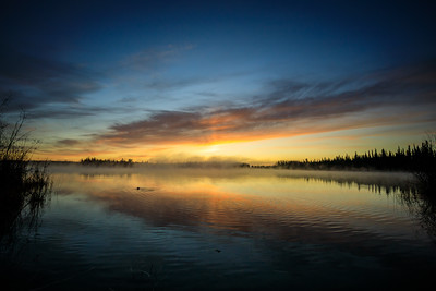 20201004, Sunrise over Chena Lake
