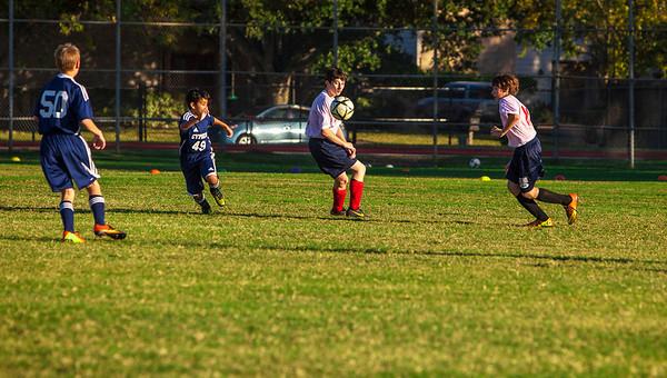 Briarwood Jr. High Soccer - Nov. 19, 2013