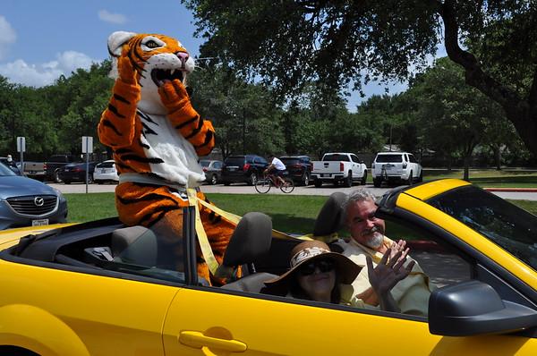 Spring Woods High Class 2020 Car Parade