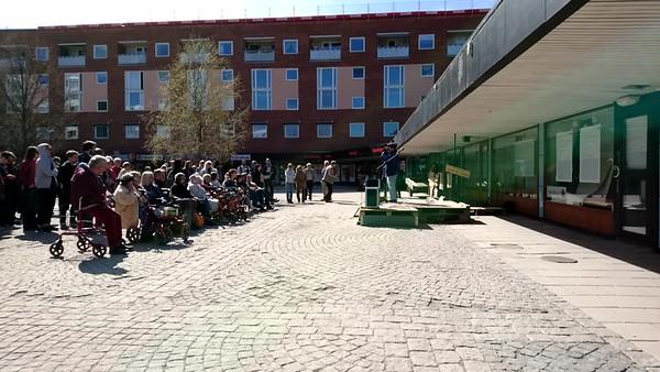 Demonstration mot Eriksberg förtätning maj2017