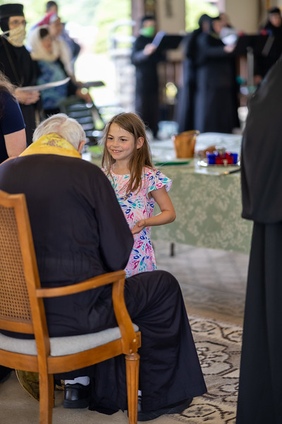 Holy Unction at Holy Transfiguration Monastery