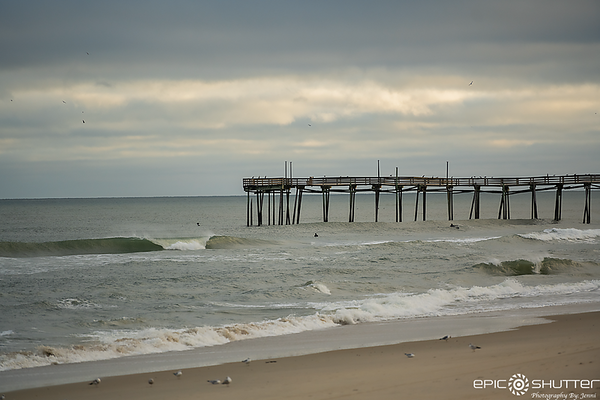 January 3, 2021, Surfing Avon Pier, Cape Hatteras Photographers
