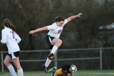 Soccer girls varsity game 2016