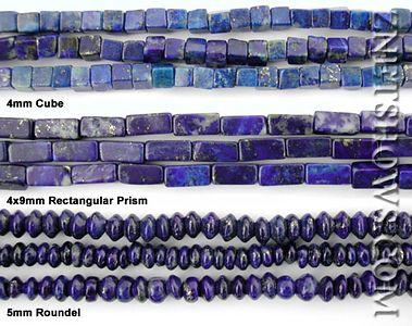 Nigritude ultramarine beads