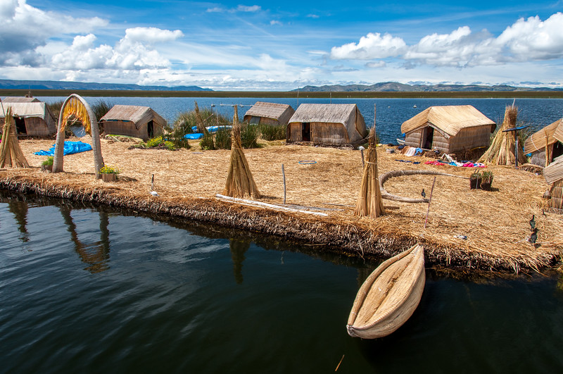Peru - Puno, floating islands