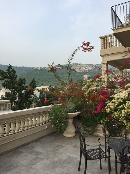 View from hotel in Tiberias - Bridget St. Clair