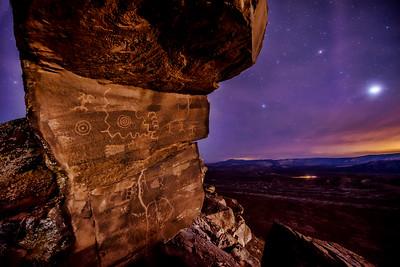 Warner Valley petroglyphs