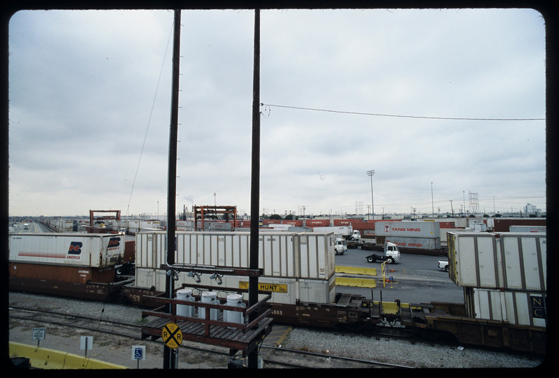 Intermodal facilities (BNSF) on Washington Boulevard, Commerce, 2004