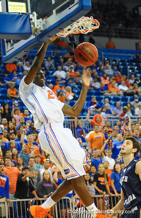 Florida Gators vs North Florida Ospreys Basketball 11-8-13