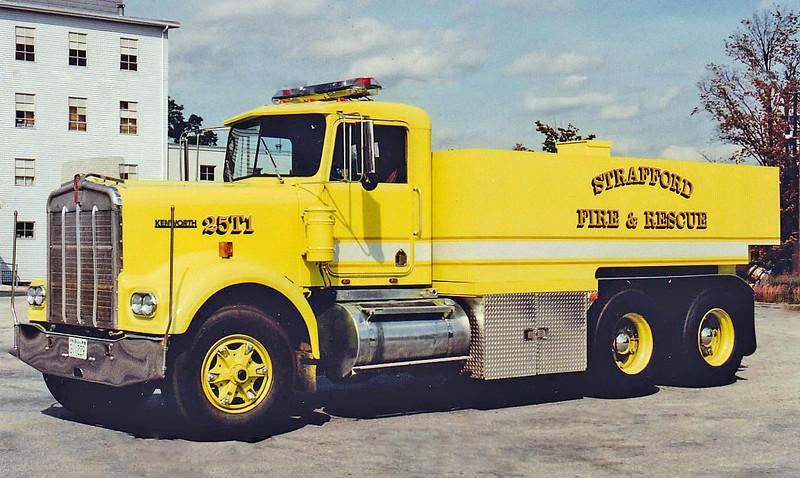 Retired   Tanker 1   1979 Kenworth   450 / 3000