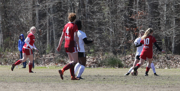 Kickers u17g North vs BeachFC 01 Red