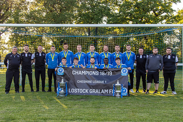Lostock Gralam Trophy Presentation 2018-19