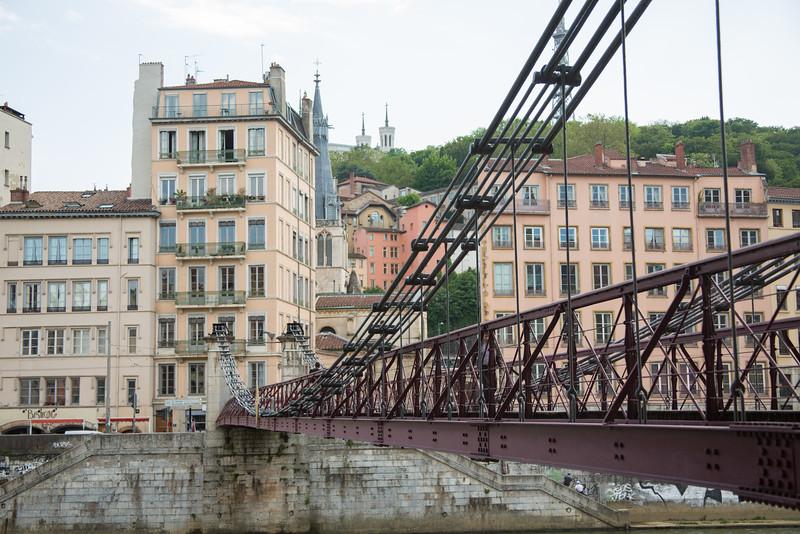 Bridge across the Saône