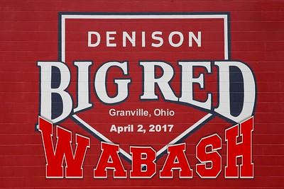 2017 Wabash at Denison (04-02-17)