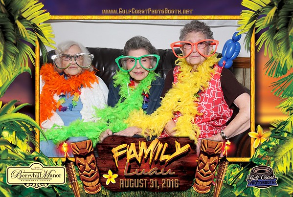 Berryhill Manor Luau Photo Booth Prints