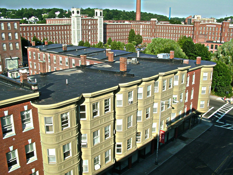 Buildings on French St taken from top of John St Parking Garage 054.JPG
