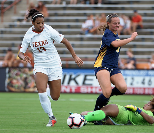 University of Texas Soccer vs. Northern Colorado 9.16.2018