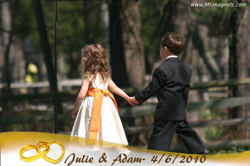 wedding magnet frame - elegant gold rings.jpg
