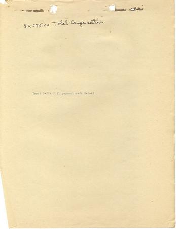 B-224 Guy Williams, Mattie Melville, Dower Interest