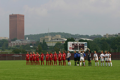 University of Massachusetts Women's NCAA Soccer 2004