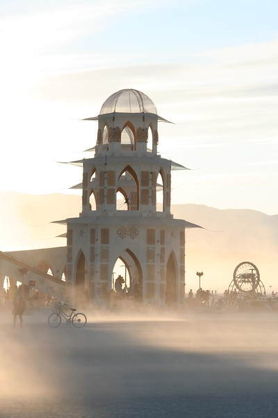Temple of Transition sunset