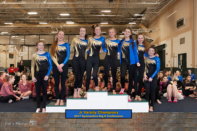 HS Sports - Big 8 Gymnastics Conference [d] Febuary 18, 2017