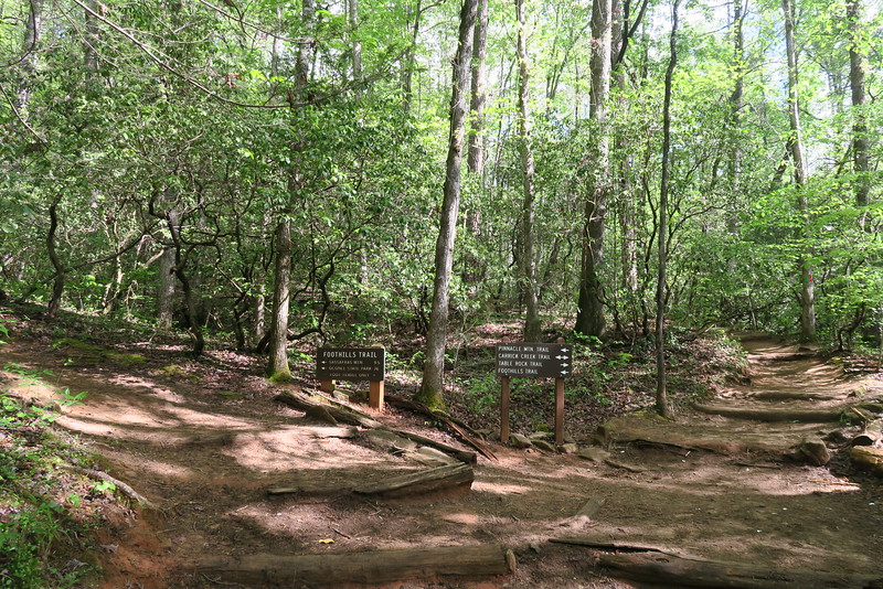 Table Rock-Foothills Trail Junction - 1,220'