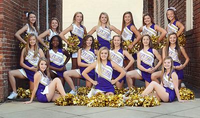 Bainbridge Middle Cheerleaders